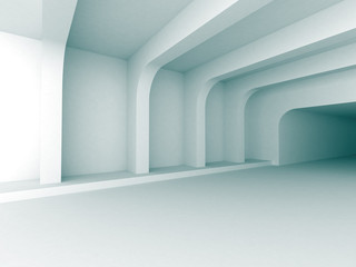 Abstract Architecture Indoor Design Background