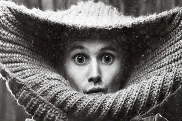 portrait of a man in a sweater
