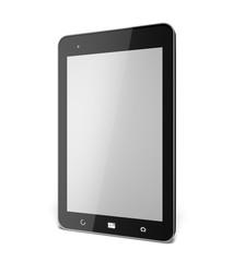 Digital Tablet. 3D. Blank tablet pad pc