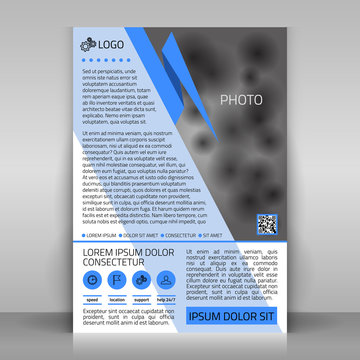 Business flyer.