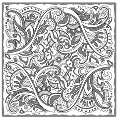 Decorative motif for tile