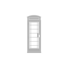 A simple image telephone box.