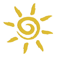 Yellow Sun Sign