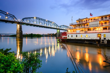 Chattanooga, Tennessee, USA riverfront