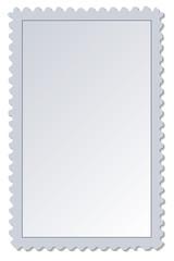 Blank Postage Stamp