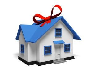 House. 3D. House Gift