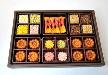 Package of corean cookies