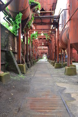 Sloss furnace in Birmingham, Alabama