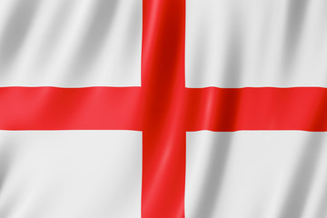 Flag of England - St George's Cross Wall mural