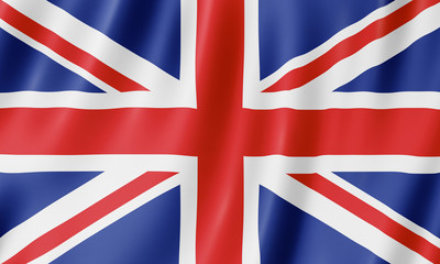Flag of the United Kingdom Wall mural