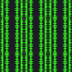 Sound track pattern generated texture