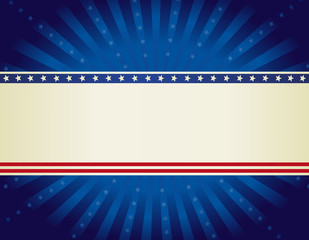 USA patrotic background