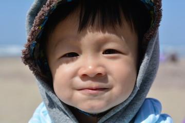 Eskimo baby face
