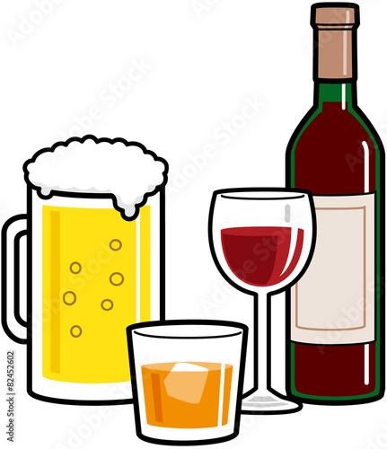 アルコール度数の少しの差が、酔いの大きな差につ …