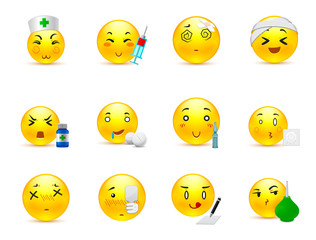 Anime emoticons doctor