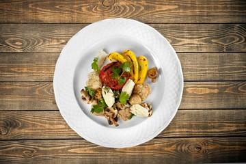 Appetizer. Grilled vegetables