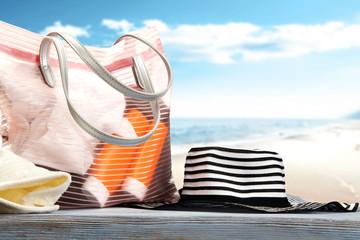 summer photo of bag