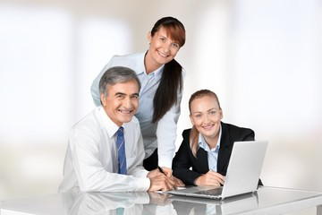 Business. Office workers