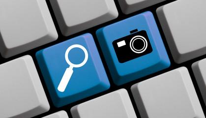 Online nach Bildern suchen und Fotos finden