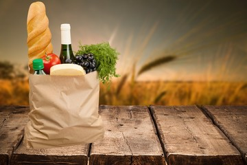 Bag, Groceries, Shopping Bag.