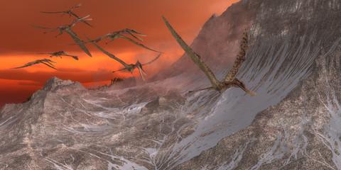 Zhenyuanopterus Flying Reptile