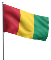Guinea Flag Image