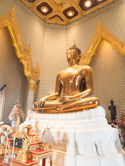 Golden buddha at Wat Traimit
