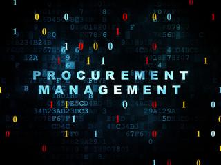 Business concept: Procurement Management on Digital background