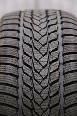 Closeup pattern of tire