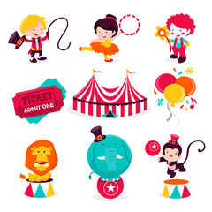 Carnival Circus Icons