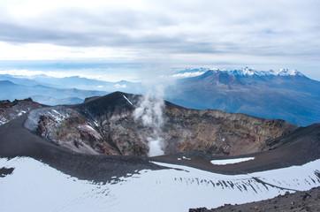 Misti volcano   or El Misti near Arequipa city, Peru