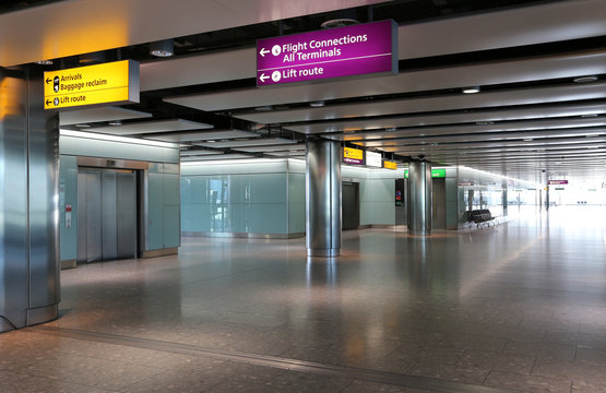 London Heathrow Airport Interior