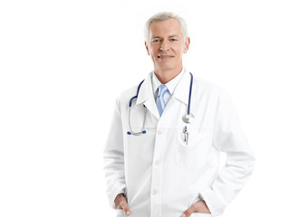 Senior doctor portrait