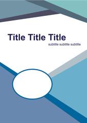 Brochure, folder or flyer template
