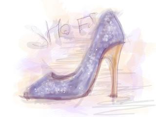 Disegno scarpa