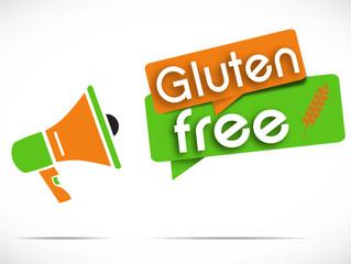 mégaphone : gluten free