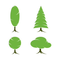 Tree symbols or icon
