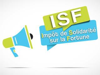 mégaphone : ISF