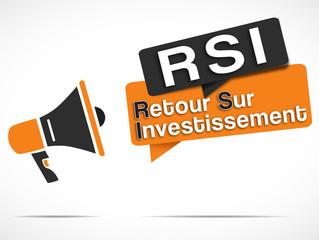 mégaphone : RSI (retour sur investissement)