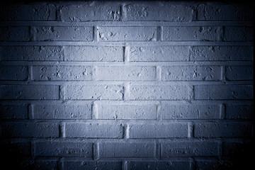Weiße Ziegelmauer