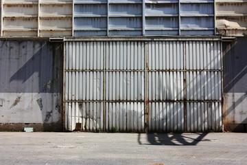 Factory, window, shutter, tile, concrete, store