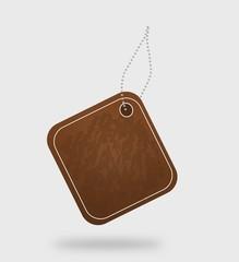 Brown tag