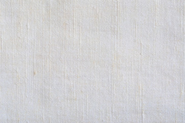 Natural Bright White Flax Fiber Linen Texture, Macro Background