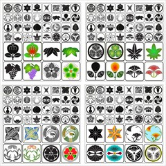 Japanese crests Batch A