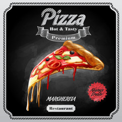 MENU PIZZA VINTAGE