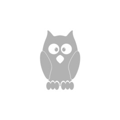 Simple image of an owl.