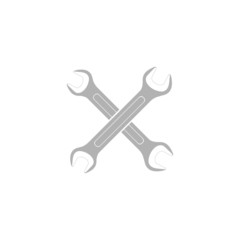 Simple icon wrench.