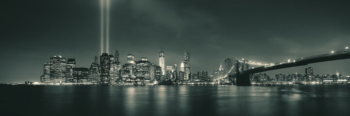 Wall Mural - New York City night