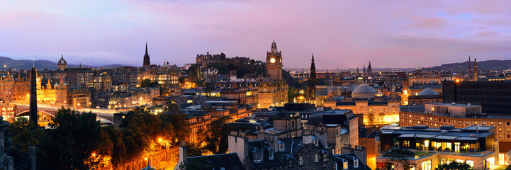 Fototapete - Edinburgh night