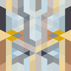 abstract retro art deco geometric pattern